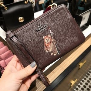 COACH x Star Wars Wristlet With Ewok